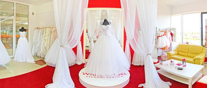 Virtuális séta a White Angel Esküvői Szalonban e28feef047
