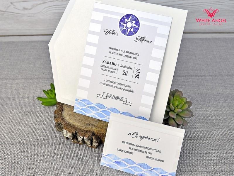 aacd817a3d Iránytű esküvői meghívó - White Angel Esküvői Szalon