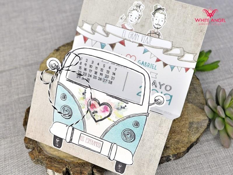 048e286ac1 Szerelem autó esküvői meghívó - White Angel Esküvői Szalon
