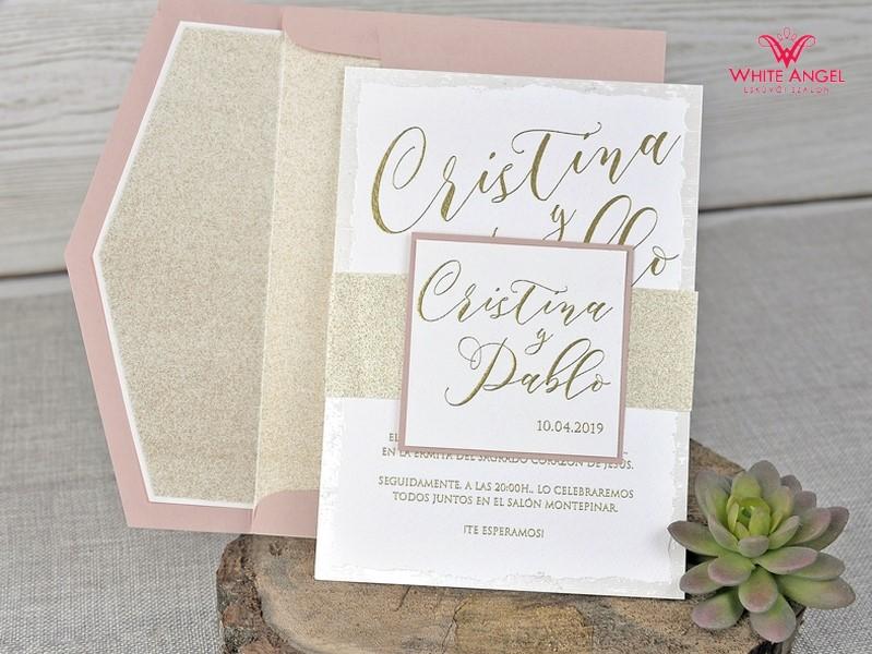dc4df2d0a9 Baba arany esküvői meghívó - White Angel Esküvői Szalon