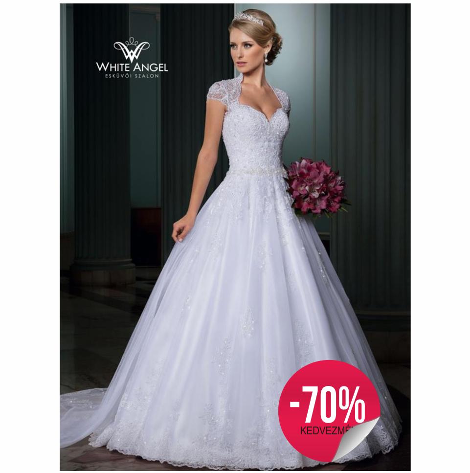 16ddd4801a Mirela Belissima menyasszonyi ruha - White Angel Esküvői Szalon