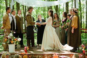 A középkori esküvő