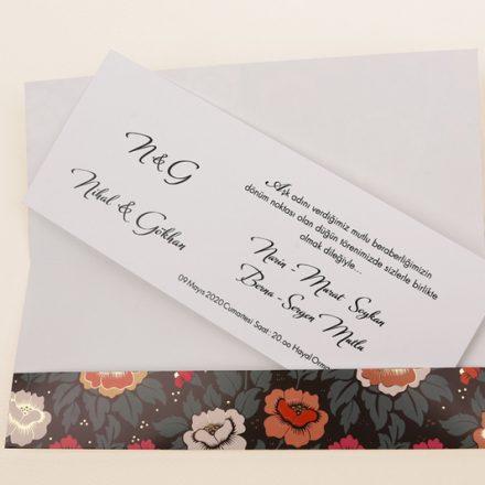 3f591ad45d Esküvői meghívó. Rózsás esküvői meghívó - White Angel Esküvői Szalon