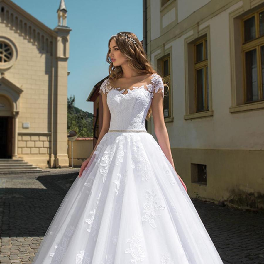 7103fa4446 Menyasszonyi ruha JD-18704 - White Angel Esküvői Szalon