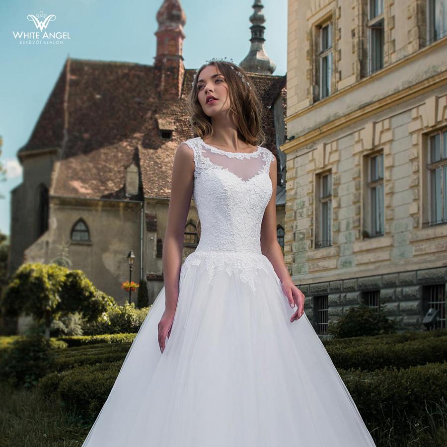 Menyasszonyi ruha JD-18715 - White Angel Esküvői Szalon 40af682398
