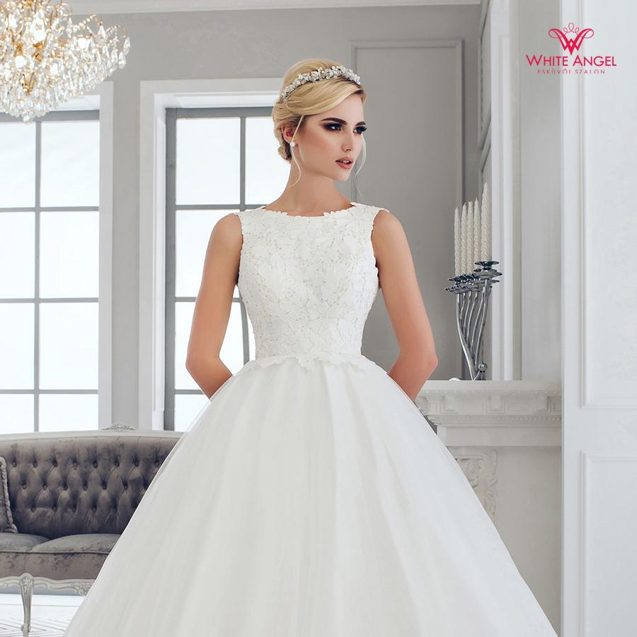 Menyasszonyi ruha Mary White 1000