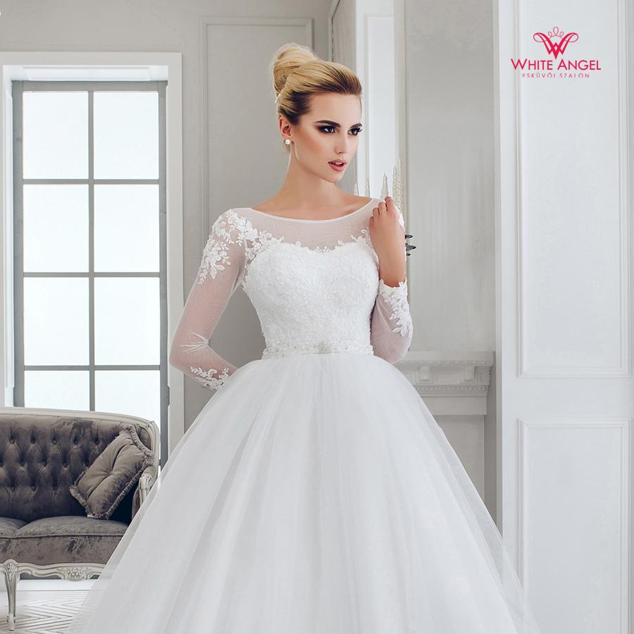 Menyasszonyi ruha Mary White 1004