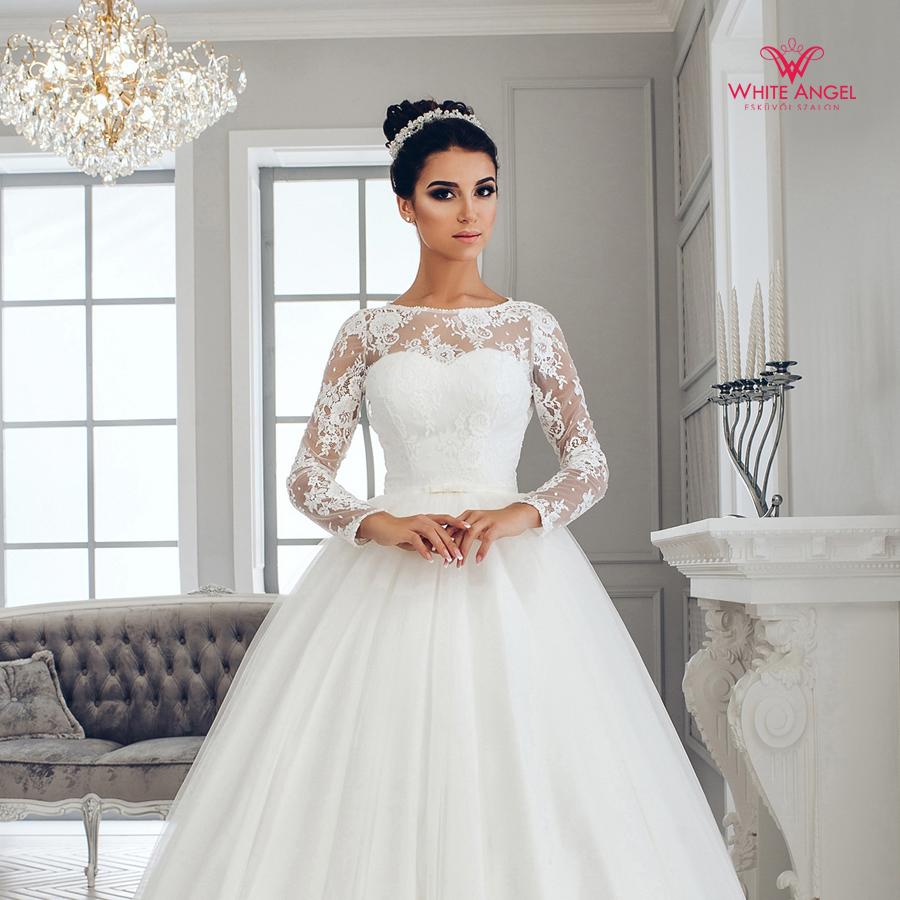 Menyasszonyi ruha Mary White 1005