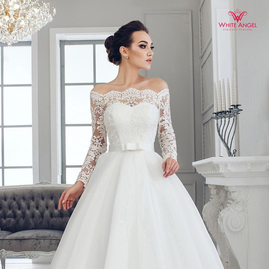 Menyasszonyi ruha Mary White 1006