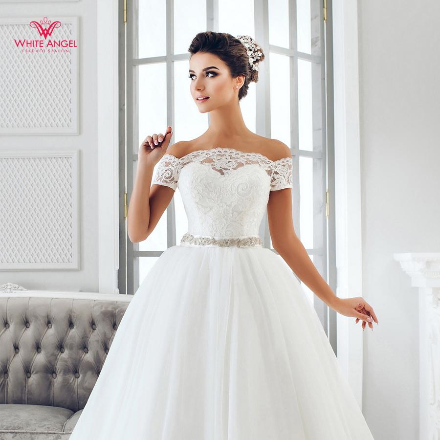 Menyasszonyi ruha Mary White 1008