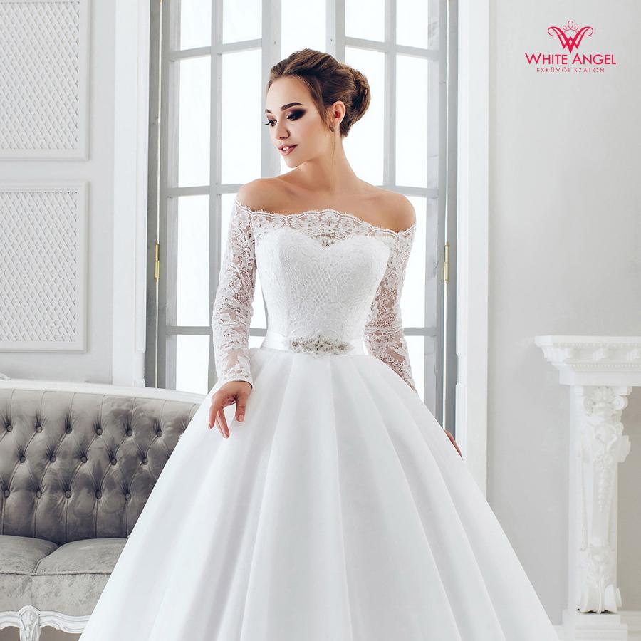Menyasszonyi ruha Mary White 1009