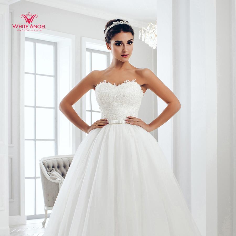Menyasszonyi ruha Mary White 1016