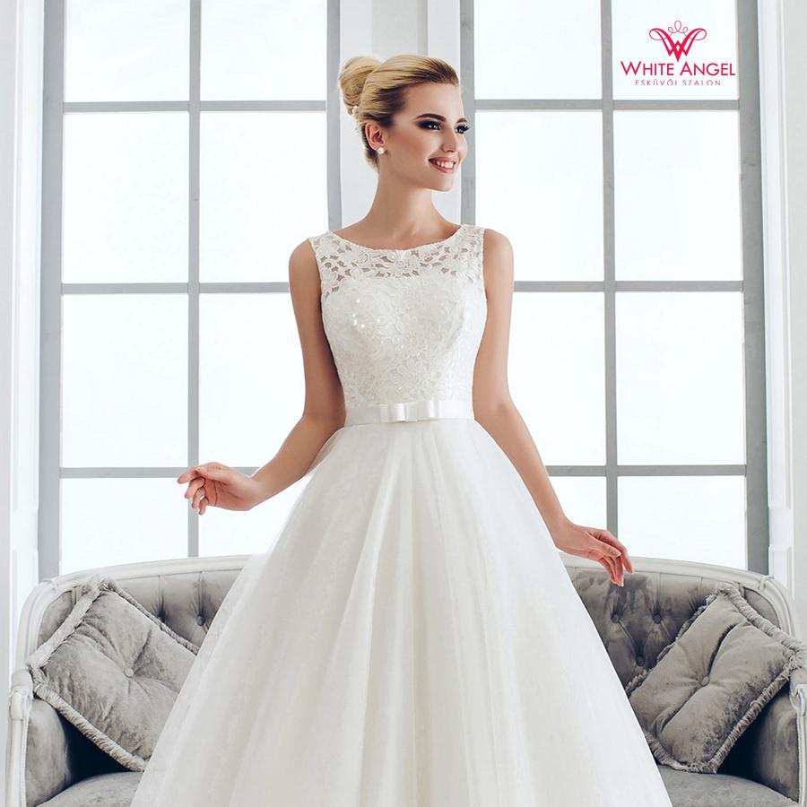 enyasszonyi ruha Mary White 1025
