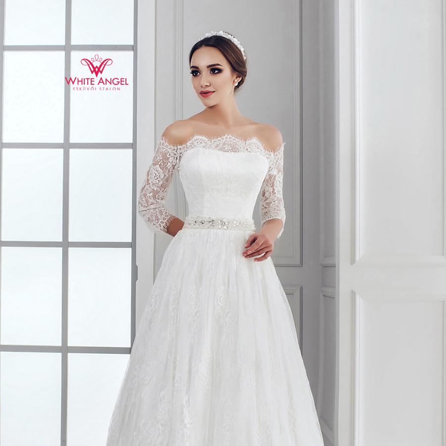 Menyasszonyi ruha Mary White 1039