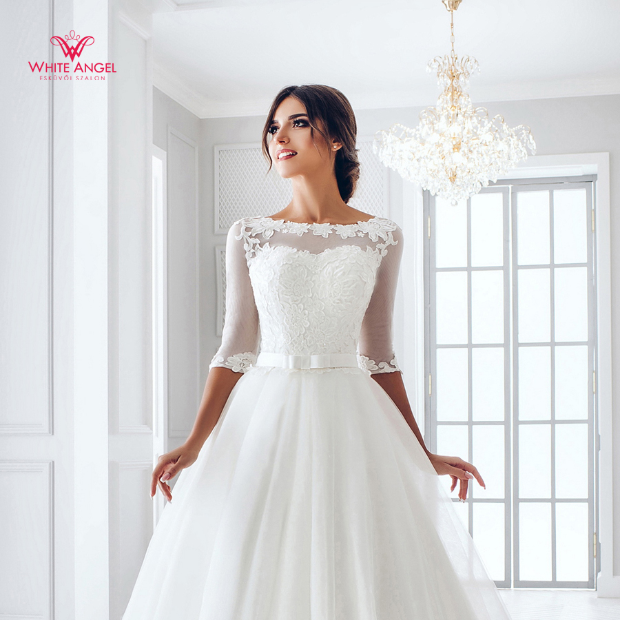 Menyasszonyi ruha Mary White 884