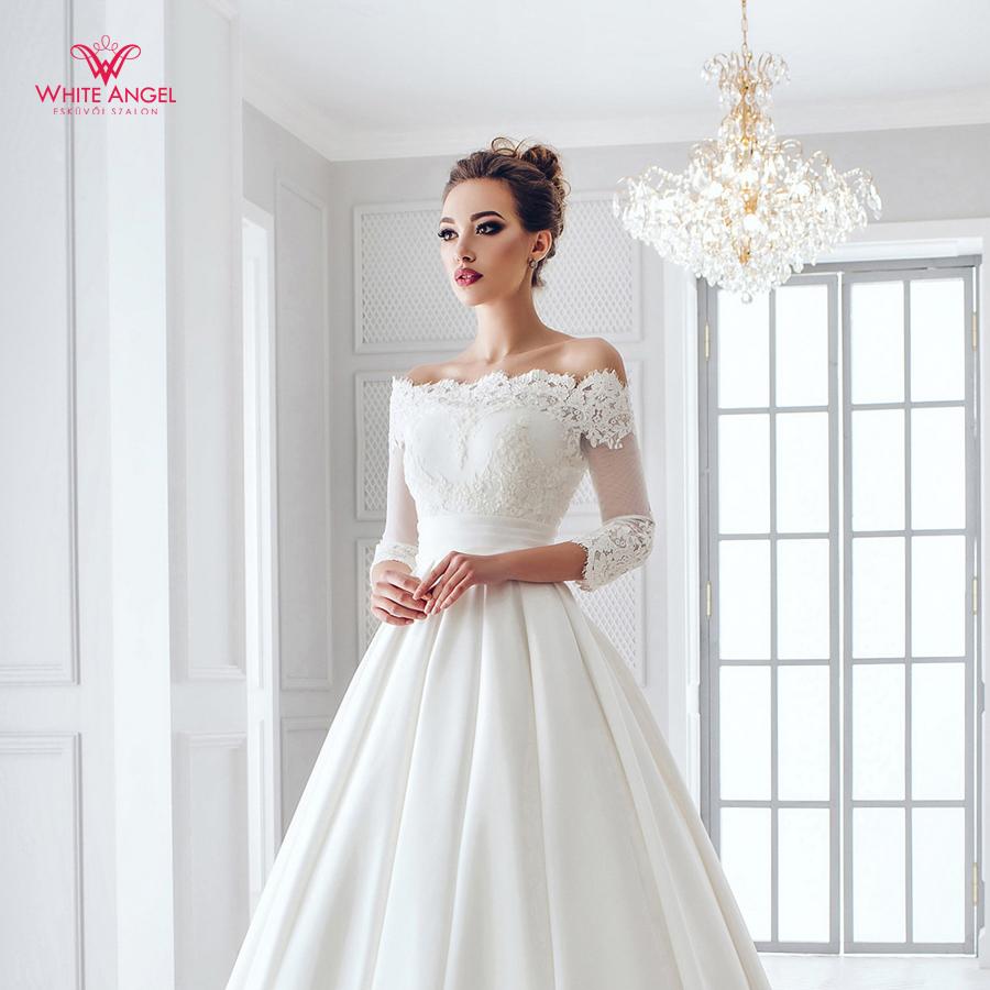 Menyasszonyi ruha Mary White 885