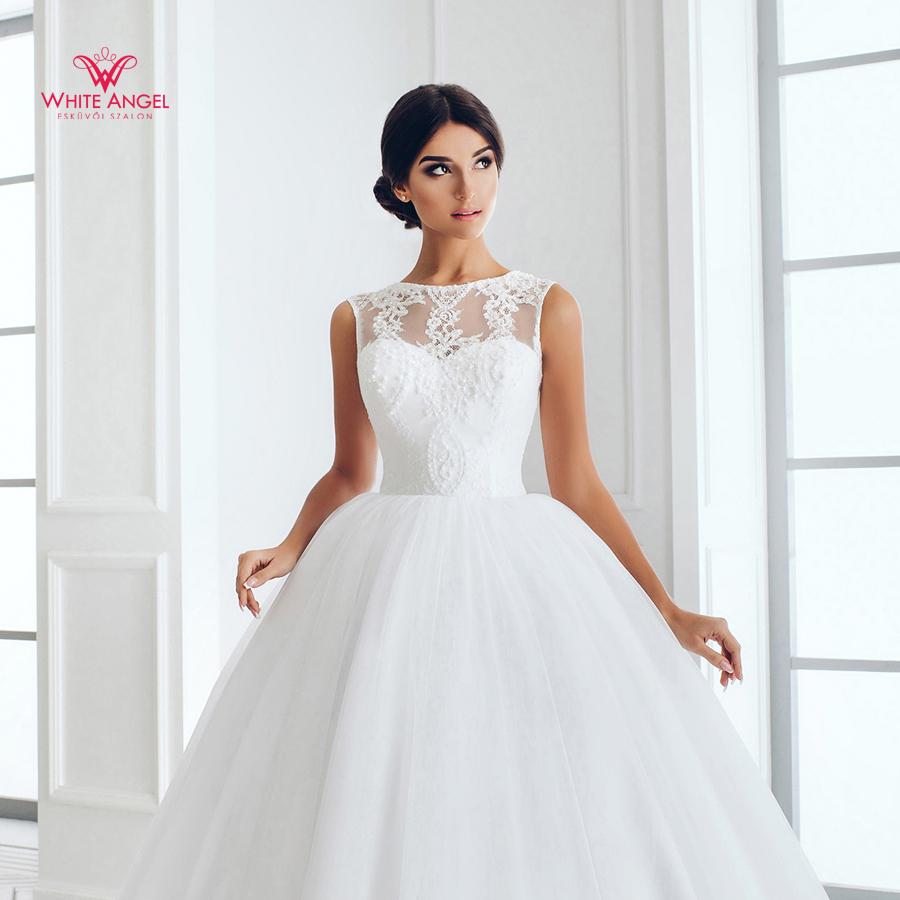 Menyasszonyi ruha Mary White 888