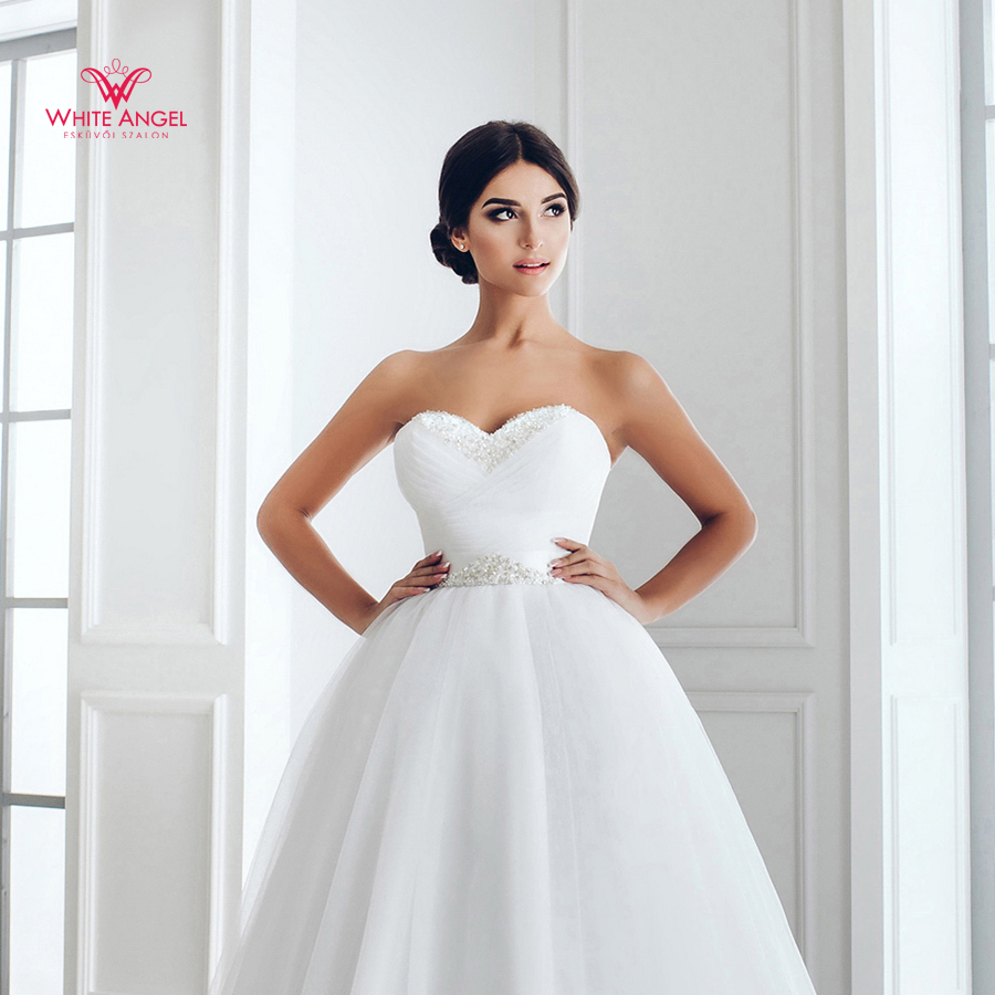 Menyasszonyi ruha Mary White 891