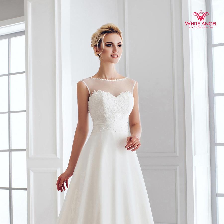 Menyasszonyi ruha Mary White 895