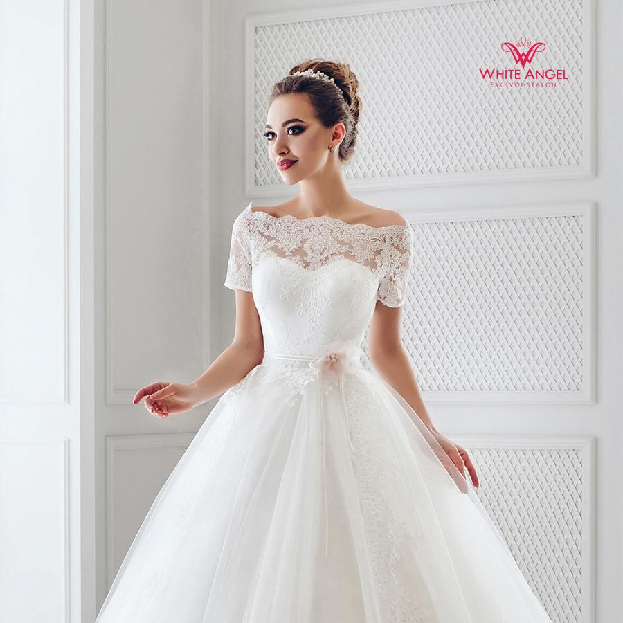 Menyasszonyi ruha Mary White 906