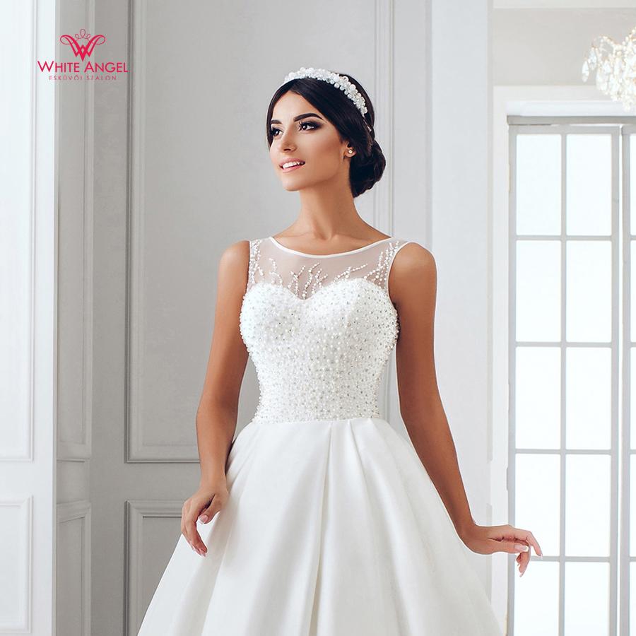 Menyasszonyi ruha Mary White 929