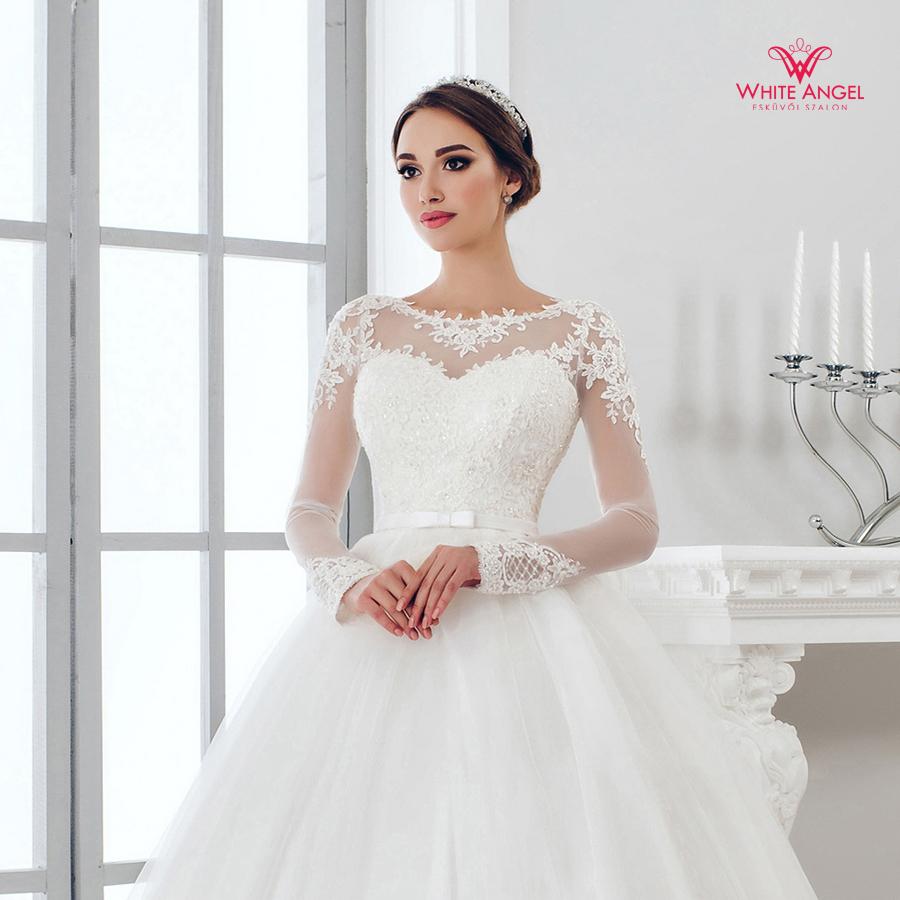 Menyasszonyi ruha Mary White 934