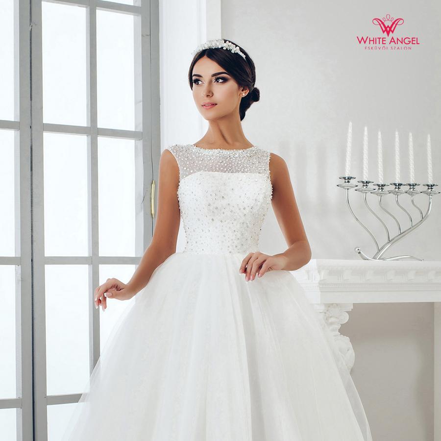 Menyasszonyi ruha Mary White 949