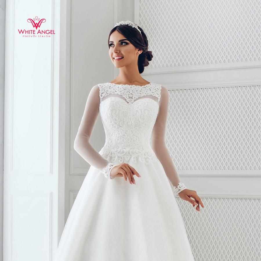 Menyasszonyi ruha Mary White 956