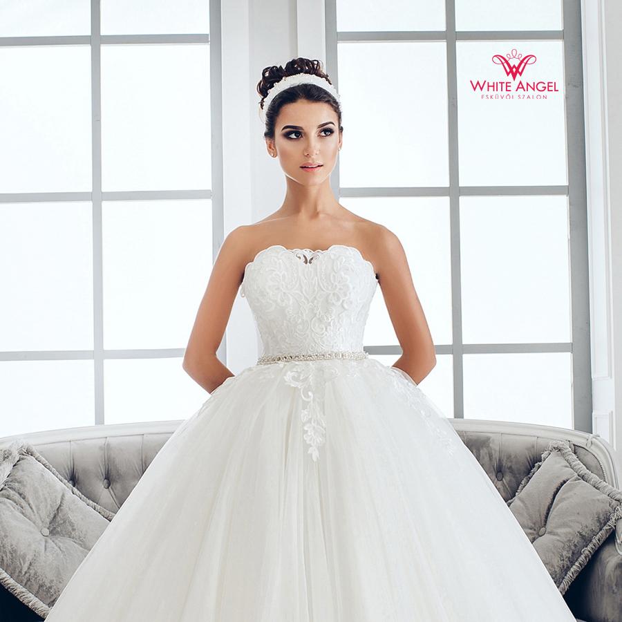 Menyasszonyi ruha Mary White 959