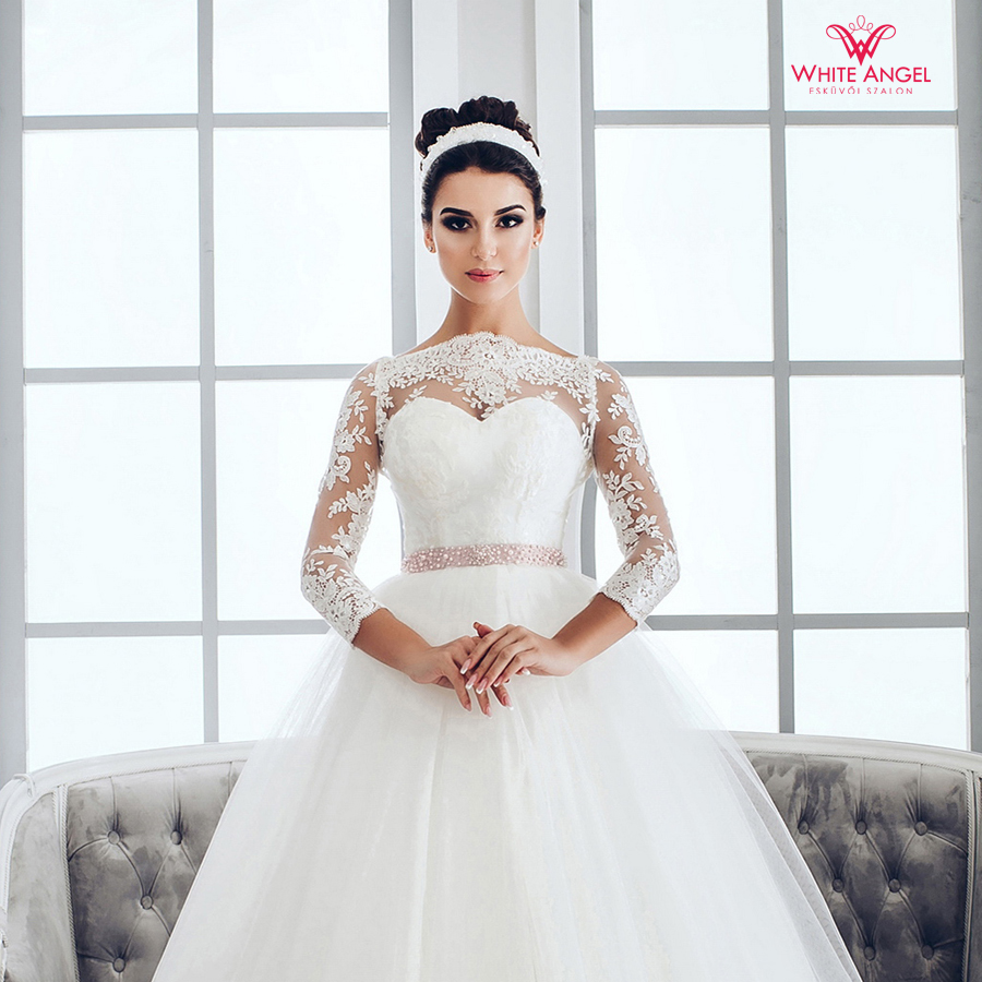 Menyasszonyi ruha Mary White 962
