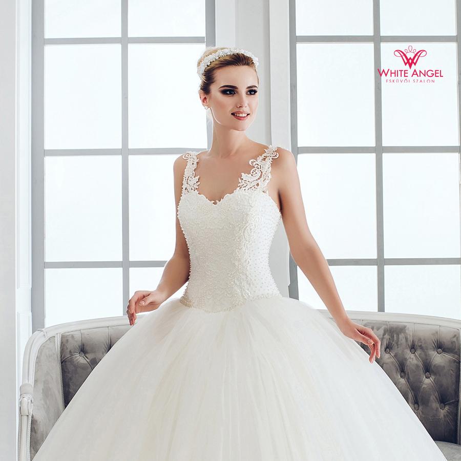 Menyasszonyi ruha Mary White 963