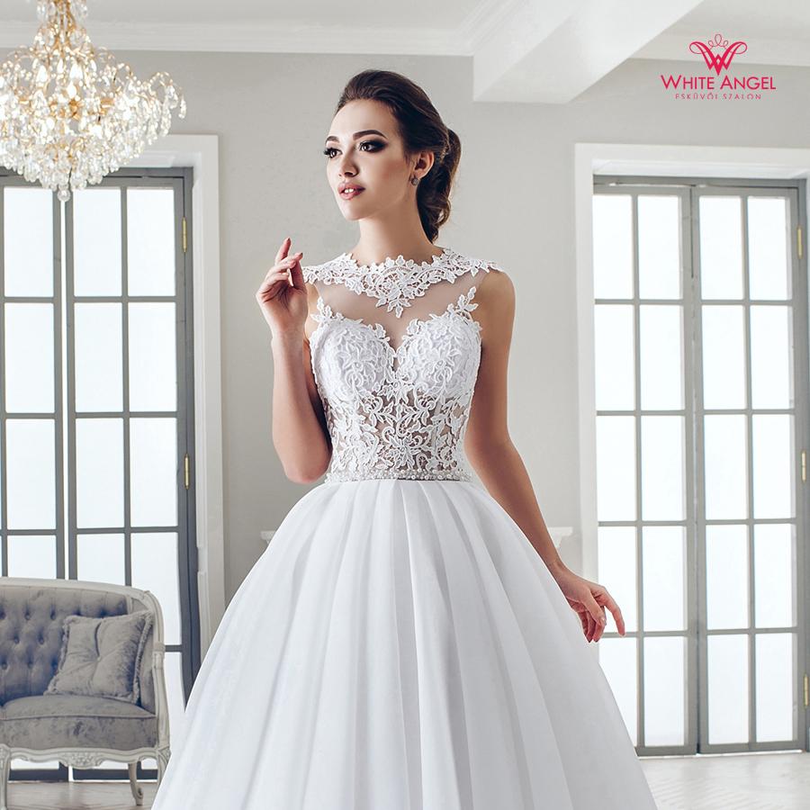 Menyasszonyi ruha Mary White 979