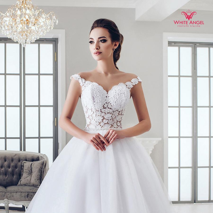 Menyasszonyi ruha Mary White 982
