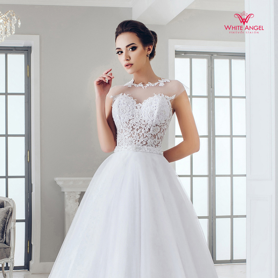 Menyasszonyi ruha Mary White 985