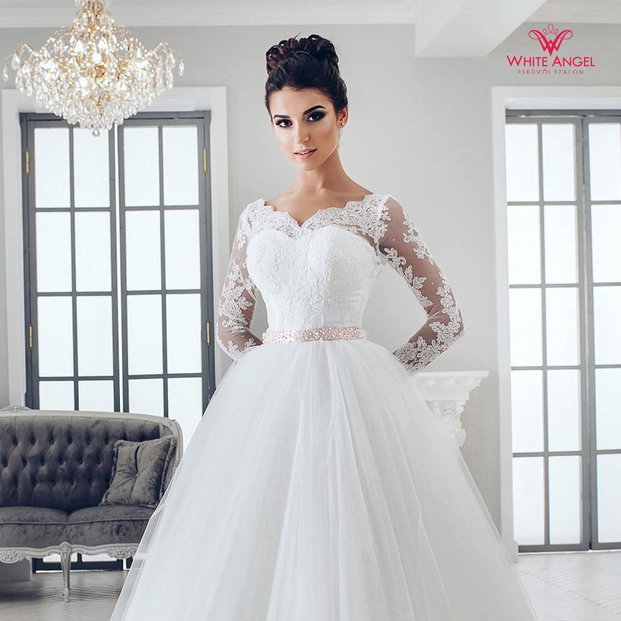 Menyasszonyi ruha Mary White 986