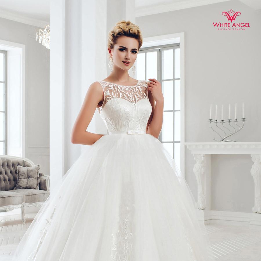 Menyasszonyi ruha Mary White 993