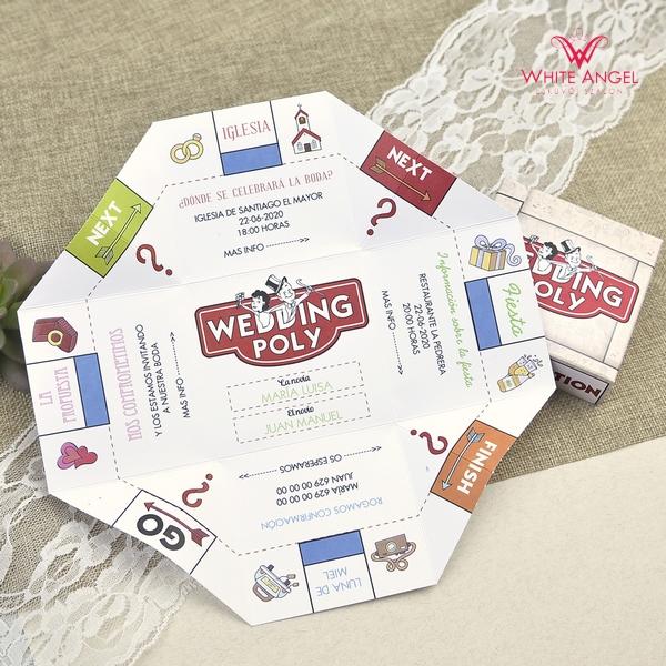 Weddingpoly esküvői meghívó