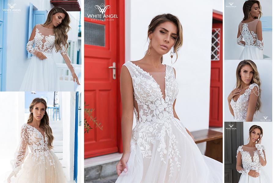 Tippek menyasszonyi ruhapróbára